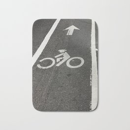 Want To Ride My Bicycle Bath Mat