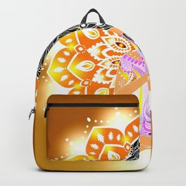 Boho Cultural Girl Backpack