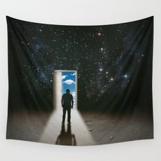 Back at it Wall Tapestry