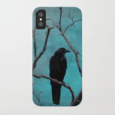 Aqua iPhone X Slim Case