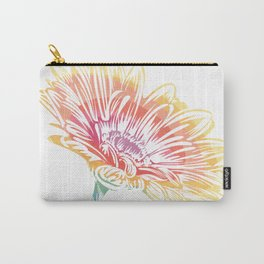 Blooming Daisy Abstract Carry-All Pouch