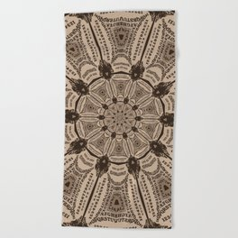 Ouija Wheel - Beyond the Veil Beach Towel