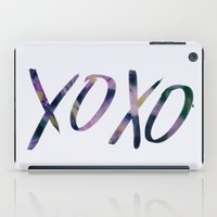 xoxo iPad Cases featuring XOXO by Leah Flores