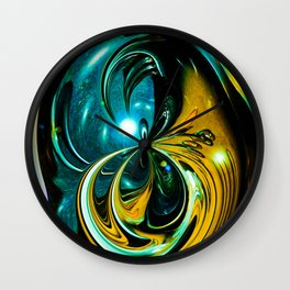 """""""Cosmic Abstraction"""" Wall Clock"""
