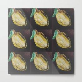 i heart lemons Metal Print