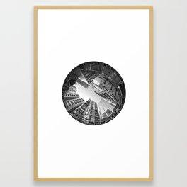 Circular Fisheye #5 Framed Art Print