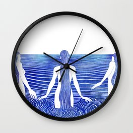 Sirens Call Wall Clock