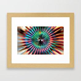Smooth Rays Framed Art Print