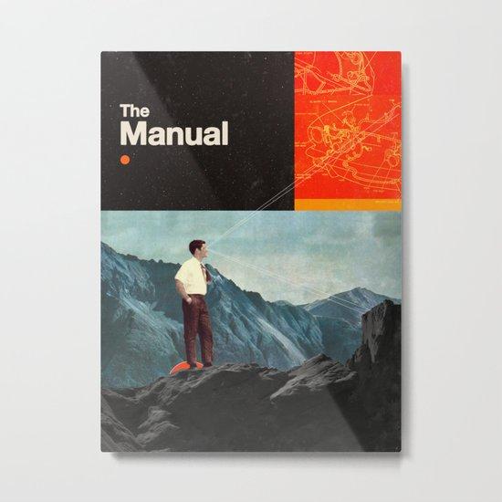 The Manual Metal Print