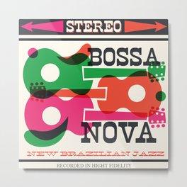 Bossa Nova Stereo Metal Print