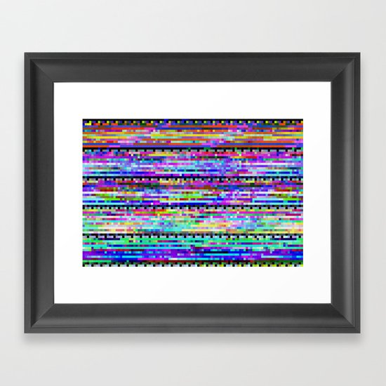 CDVIEWx4bx2ax2a Framed Art Print