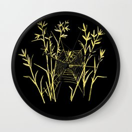Said the Spider to the Fly Wall Clock
