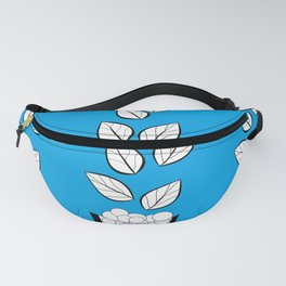 PLANTS AND PEBBLES ART Fanny Pack