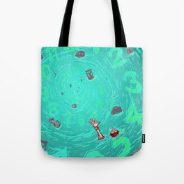 Drown in the now Tote Bag