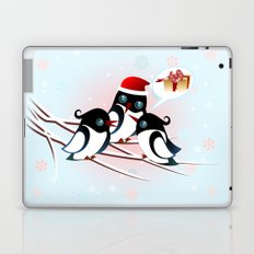 Winter Birds Christmas Wish Laptop & iPad Skin