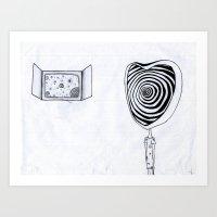 Different Dimension  Art Print
