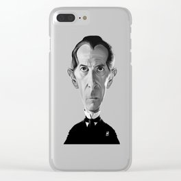 Peter Cushing Clear iPhone Case