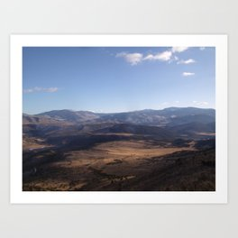 Open Range Art Print