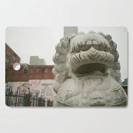 Guardian Lion Cutting Board