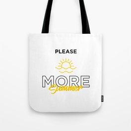 More Summer Tote Bag