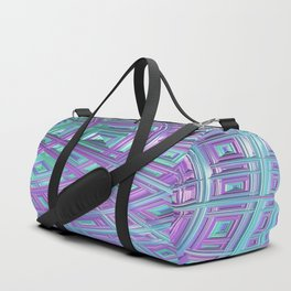 Ceiling Stare Fractal - Abstract Art Duffle Bag