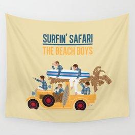 Surfin Safari Wall Tapestry