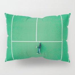 Tennis court green Pillow Sham