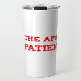 apostle of patience Travel Mug
