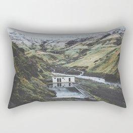 Seljavallalaug, Iceland Rectangular Pillow