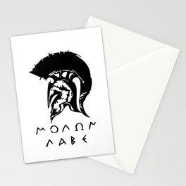 Molon Labe Stationery Cards