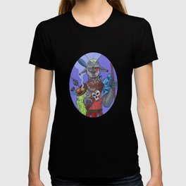 Digital Acid Orc Shaman T-shirt