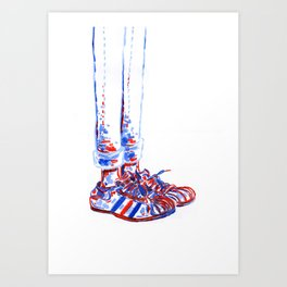 Shoes2 Art Print