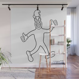 fickle Wall Mural