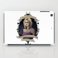 buffy iPad Cases featuring Buffy - Buffy the Vampire Slayer by muin+staers