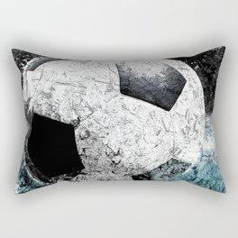 Modern soccer version 1 Rectangular Pillow