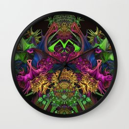Crown Of Thorns 7 Wall Clock