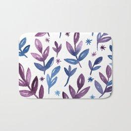 Blue violet Bath Mat
