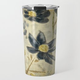 Blue Daisies Travel Mug