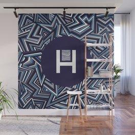 Halucinated Zigs Wall Mural