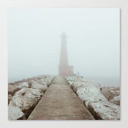 The Fisherman | Muskegon, MI Canvas Print