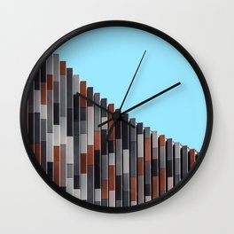 Minimalist office building Wall Clock