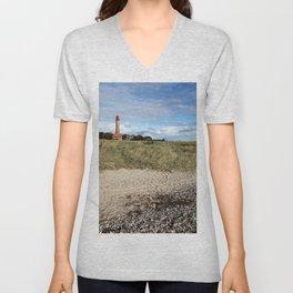 Leuchtturm Flügge Unisex V-Neck