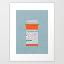 Brave New World Prescription Art Print