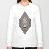 sacred geometry Long Sleeve T-shirts featuring Sacred Geometry  by Kit King & Oda