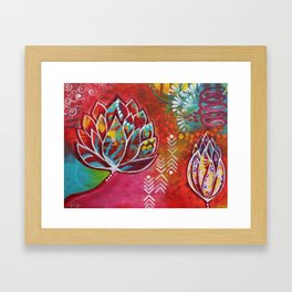 Blooming Beauty Framed Art Print