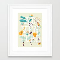 adventure Framed Art Prints featuring Adventure  by Wharton