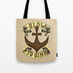 Slow to Sink Tote Bag
