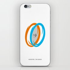 PAUSE – Cake, It's a Lie iPhone & iPod Skin