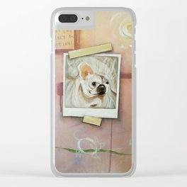 I'll take the dog instead Clear iPhone Case