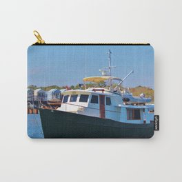 Classic Wooden Boat Carry-All Pouch